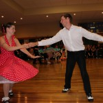 Katie and Karl dancing in Christchurch south islands July 2010