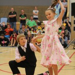 Josh and Ellexa winners of the Junior section at Junior Nationals 2015