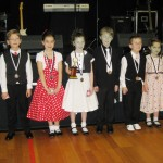 3 couples in the novice junior section 2010 club champs. Andrew and Hannah getting first place