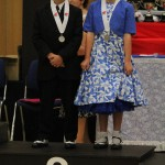 Jack and Lucy, 2nd place in the Junior section for 2013 nationals
