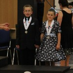 Ben and Lucy, 2nd place in Best dressed, 2013 nationals