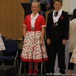 George and Isabella, 3rd in Best dressed, 2013 nationals
