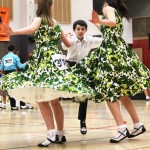 Caleb, Brittany and Chloe dancing their triples, 2013 nationals