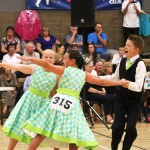 George, Isabella and Laura dancing to their triples, 2013 nationals