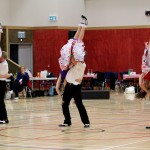 Our great top team performing their routine, nationals 2013