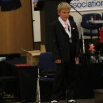 Joshua McNaughton coming second for best dressed male for 2013 nationals