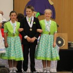 George, Isabella and Laura coming second in triples for 2013 nationals