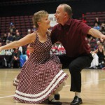 Jon and Shona Havenaar competing in the Senior Restricted section at the senior nationals 2014