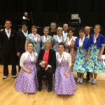 All place getters and competitors on the Sunday competition for senior nationals 2014